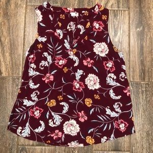 Old Navy Flower Blouse Size M